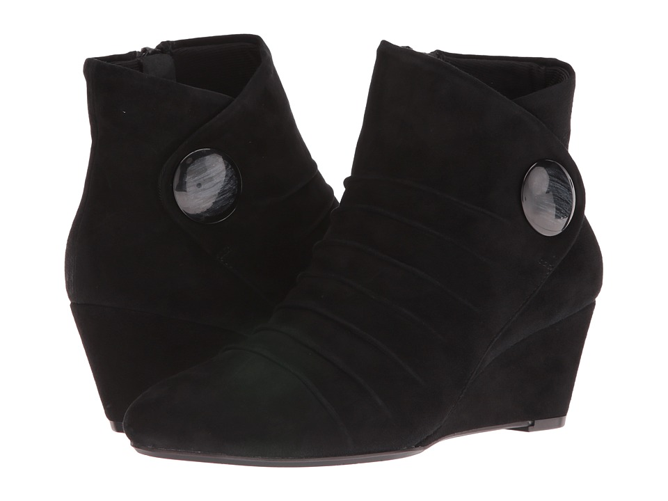 Vaneli - Thea (Black Suede) Women's Shoes
