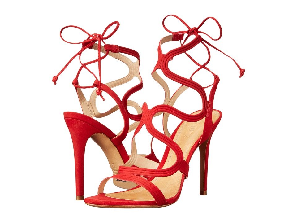 Schutz - Lacie (Scarlet) Women's Shoes