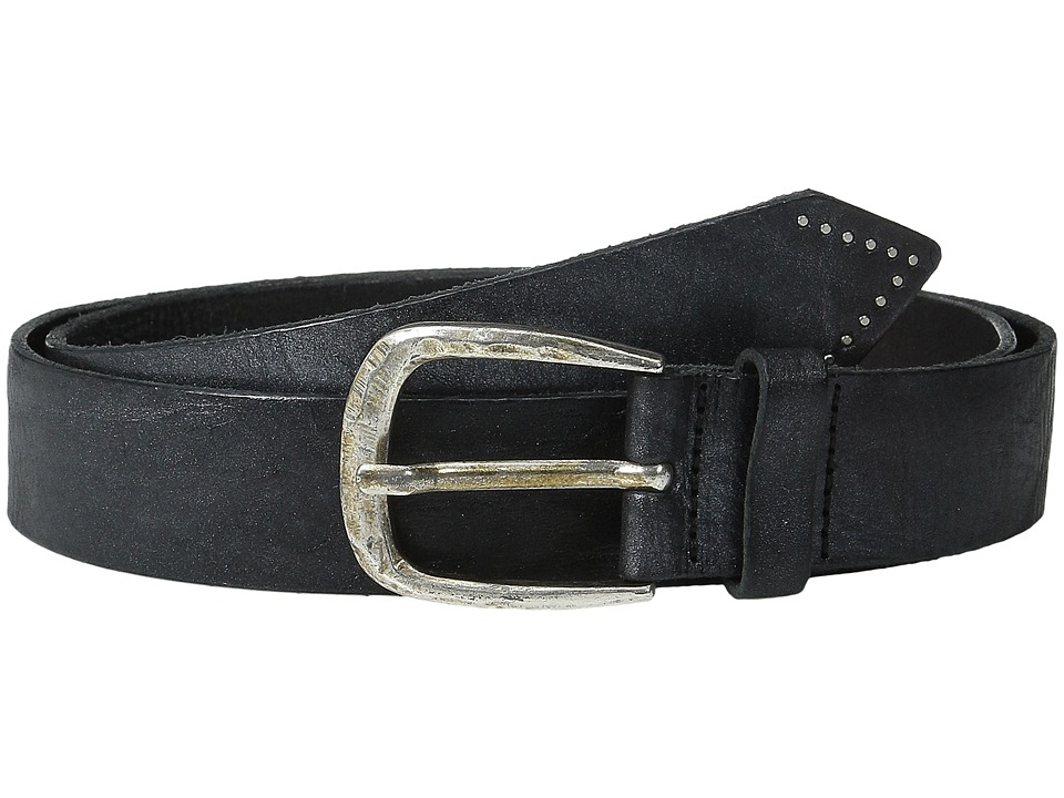 Liebeskind - Vintage Leather Belt (Silver) Belts