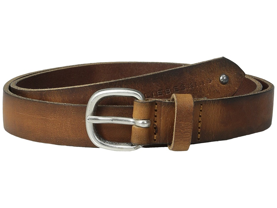 Liebeskind - Vintage Leather Belt (Cognac) Belts