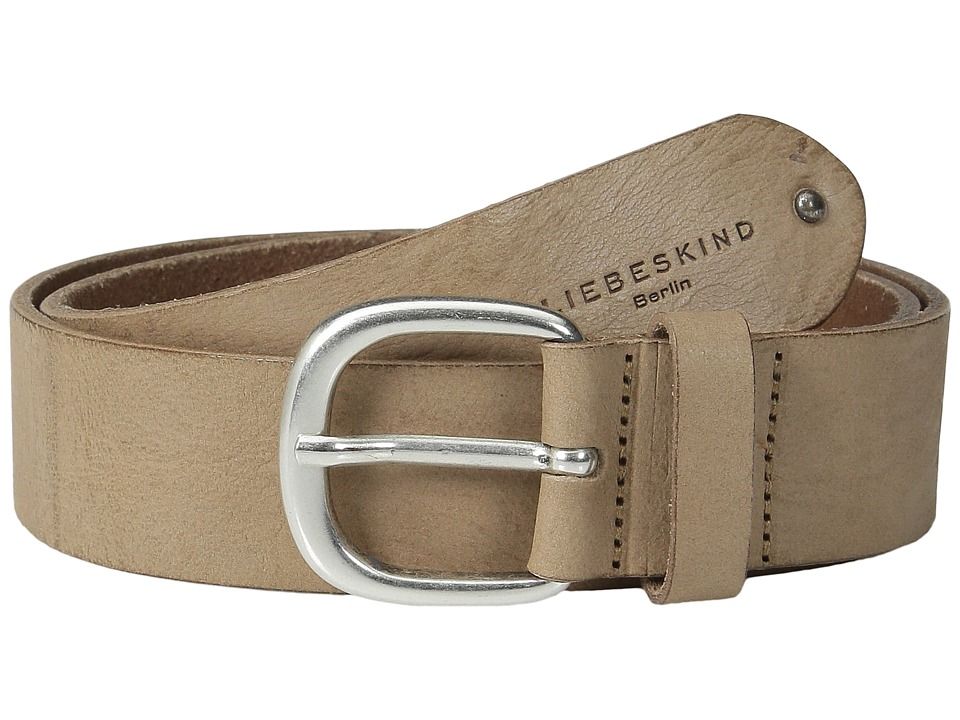 Liebeskind - Gump Vintage Leather Belt (Wood) Belts