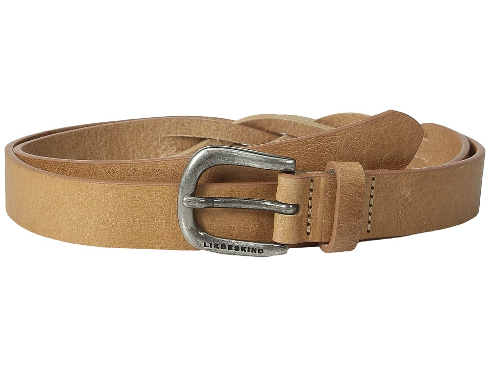 Liebeskind - Douglas Vintage Leather Belt (Nature) Belts