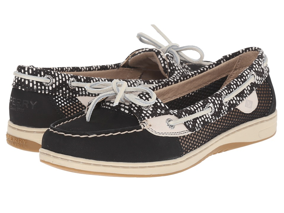 Sperry Top-Sider - Angelfish Tribal (Black/White) Women