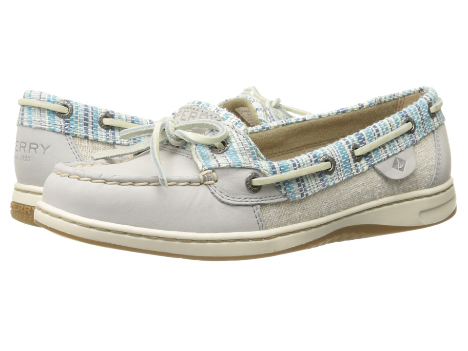 Sperry Top-Sider - Angelfish Rafia (Light Grey) Women