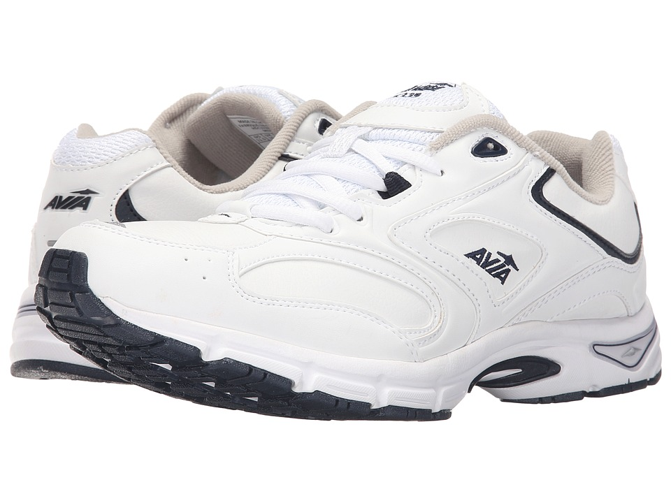 Avia - A6339M (White/Navy) Men's Shoes