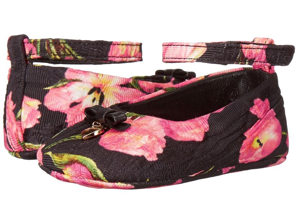 Dolce & Gabbana Kids - City Tulip Ballerina Flat (Infant/Toddler) (Print) Girls Shoes
