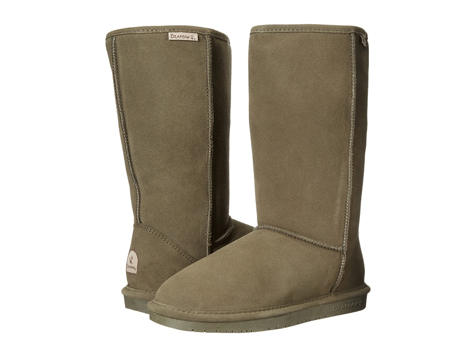 Bearpaw Emma Tall (Olive) Women