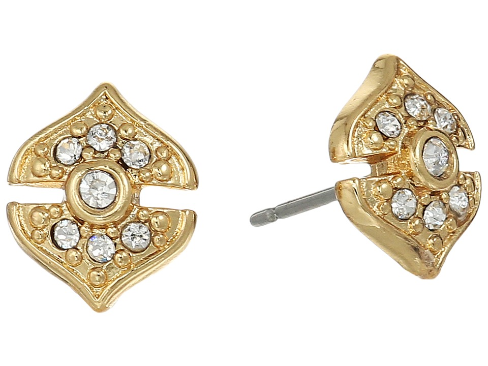 Vince Camuto - Pave Studs Earrings (Gold) Earring