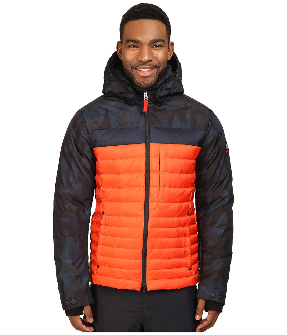 Bogner Fire + Ice - Nate-D (Camo/Flame Orange) Men's Clothing