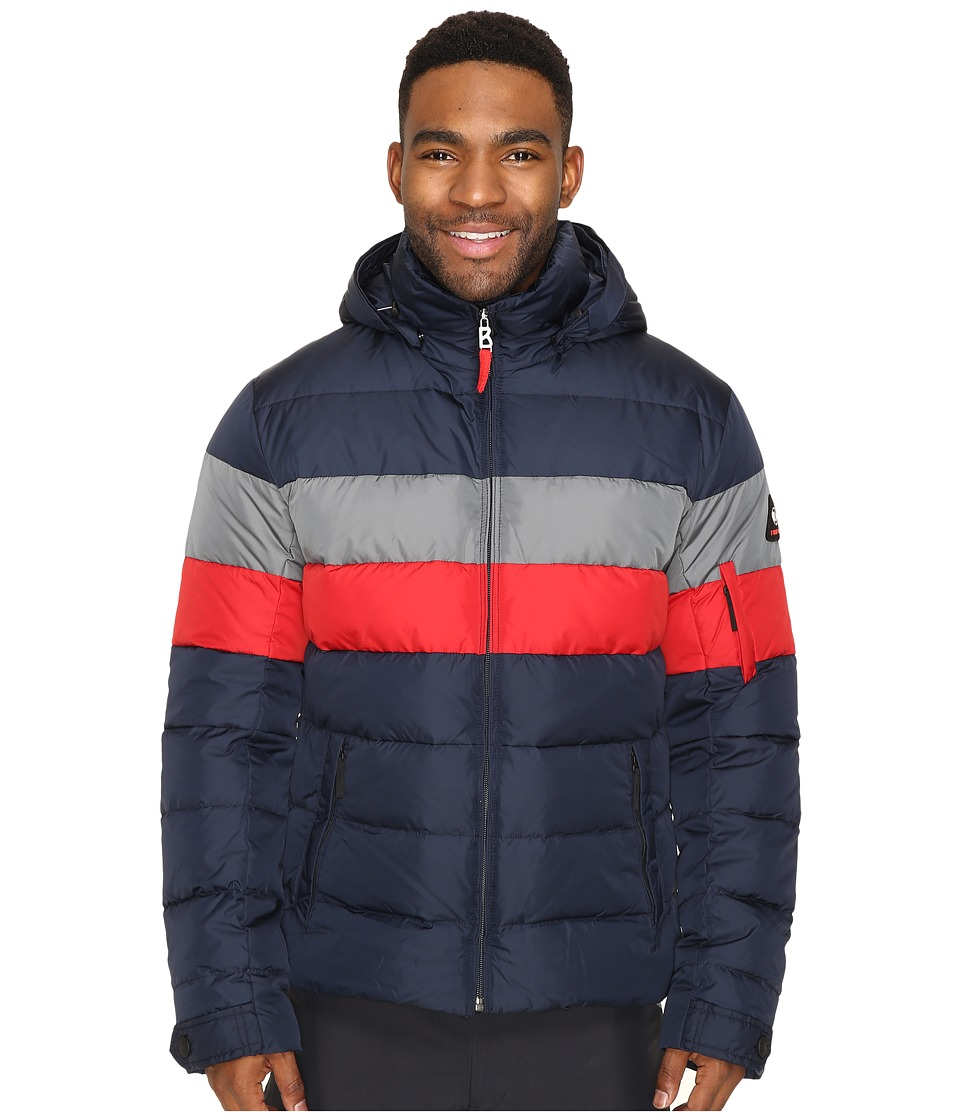 Bogner Fire + Ice - Lars2-D (Navy/Red/Khaki) Men's Clothing
