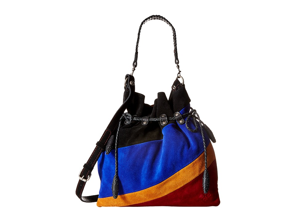Patricia Nash - Caffarelli Large Drawstring (Black Multi) Drawstring Handbags