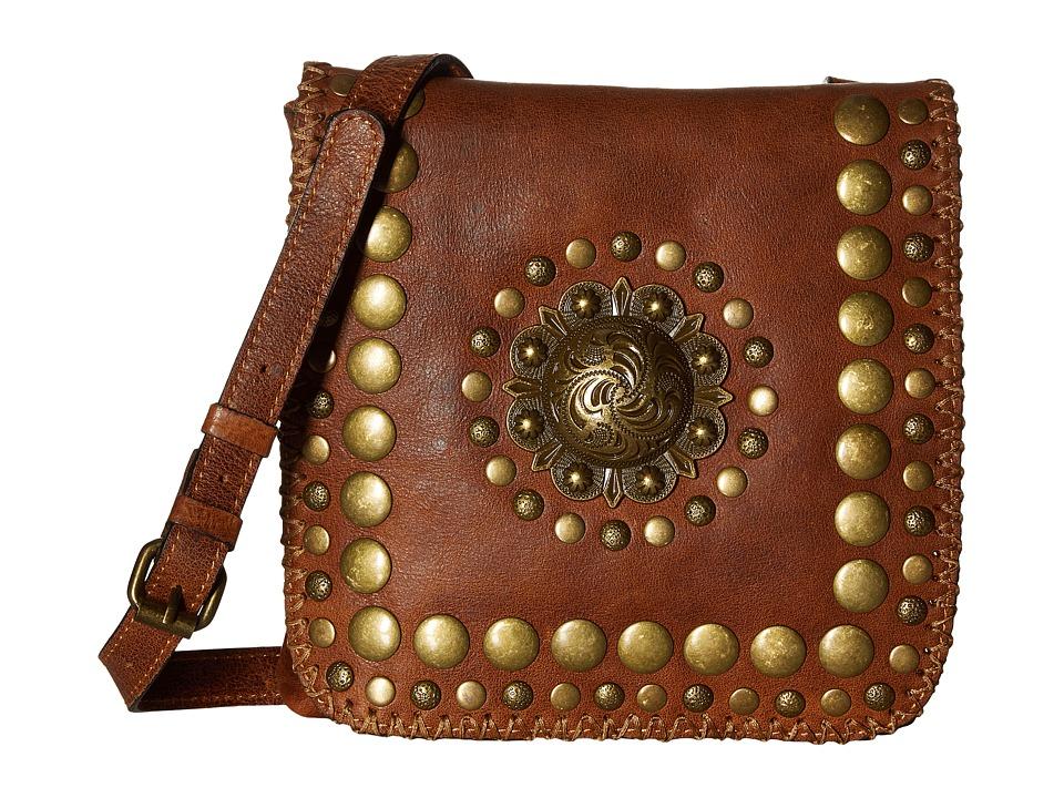 Patricia Nash - Granada Crossbody (Cognac) Cross Body Handbags