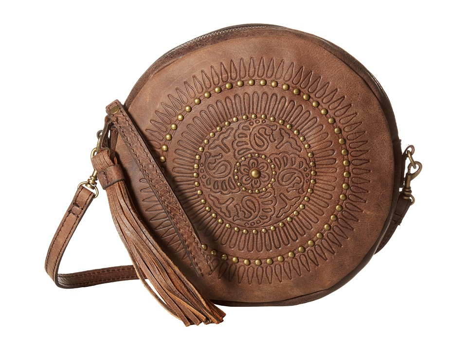 Patricia Nash - Giovanna Round Wristlet (Chocolate) Wristlet Handbags