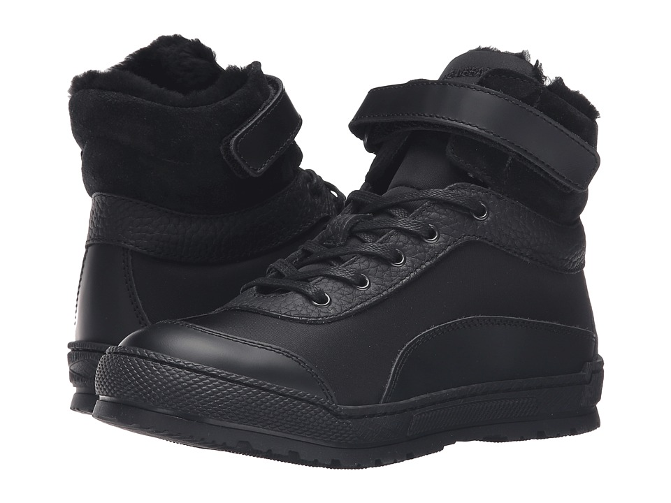 Dolce & Gabbana Kids - Back to School Cold Weather Boot (Little Kid/Big Kid) (Black) Boys Shoes