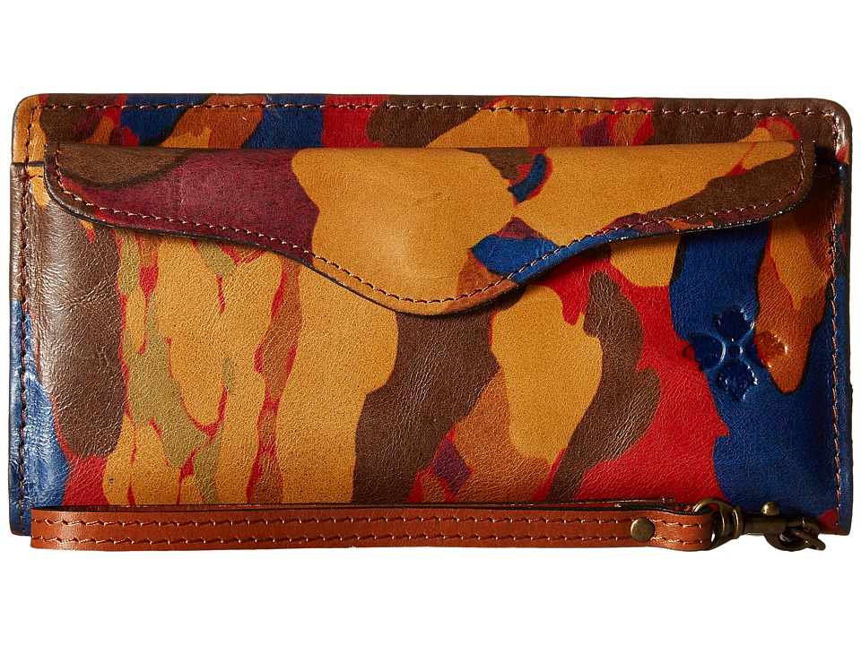 Patricia Nash - Valentia Snap Wristlet (Parisian Camo) Wristlet Handbags