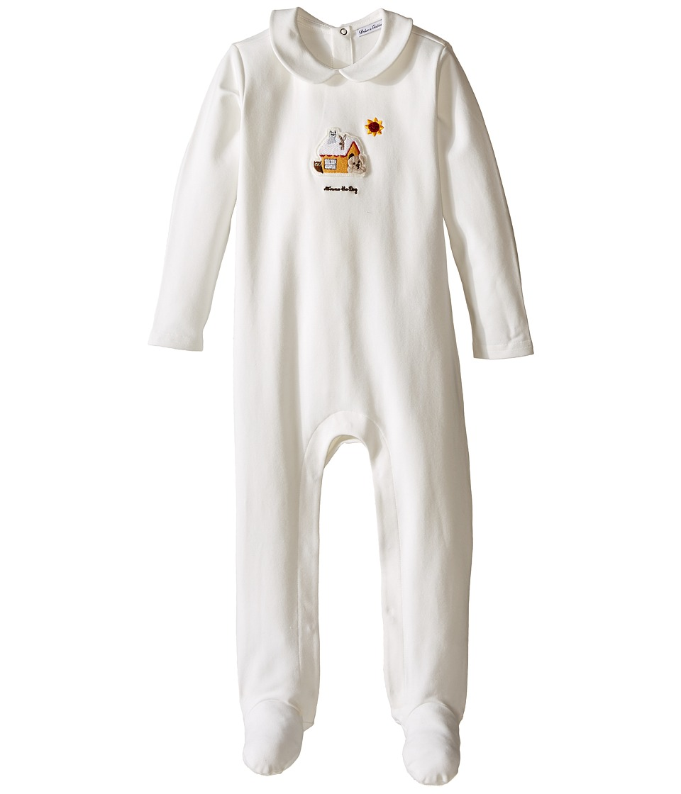 Dolce & Gabbana Kids - Mimmo Collared One-Piece (Infant) (White) Boy's Jumpsuit & Rompers One Piece