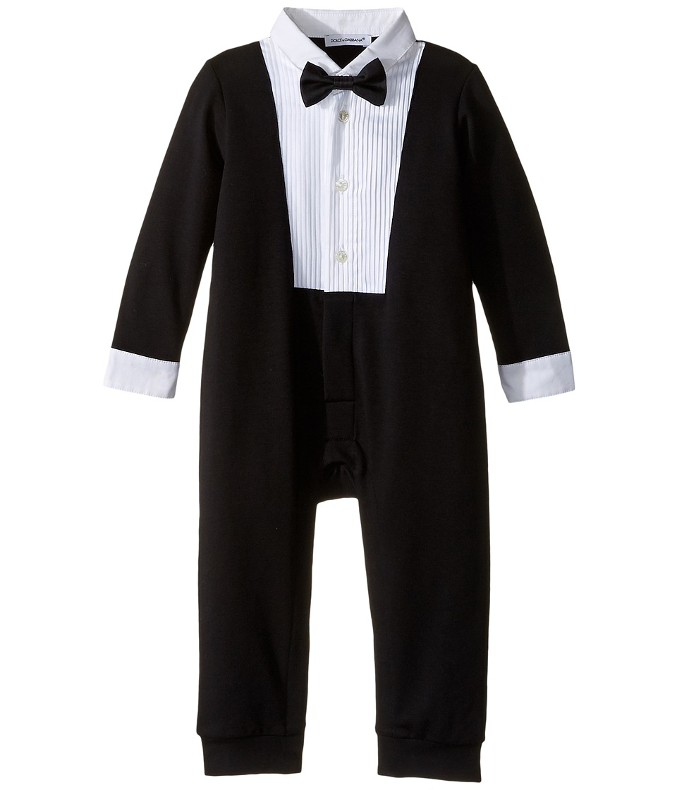 Dolce & Gabbana Kids - Formal Tuxedo (Infant) (Black) Boy's Jumpsuit & Rompers One Piece