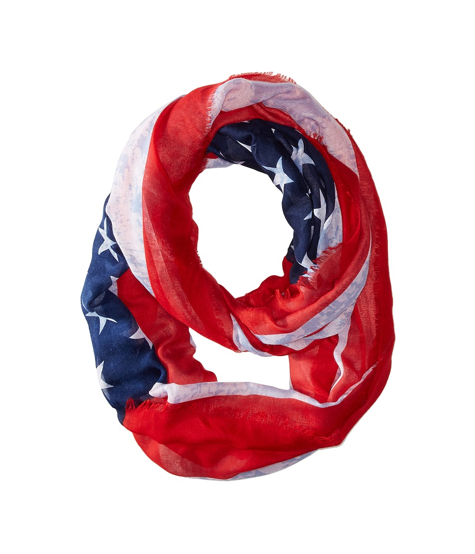 Steve Madden - American Heritage Infinity (Red) Scarves