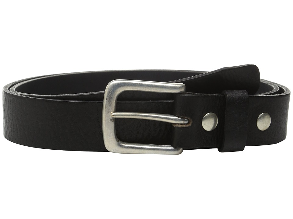 Will Leather Goods - 34mm Luxe Belt w/ Snap Closure (Black) Belts