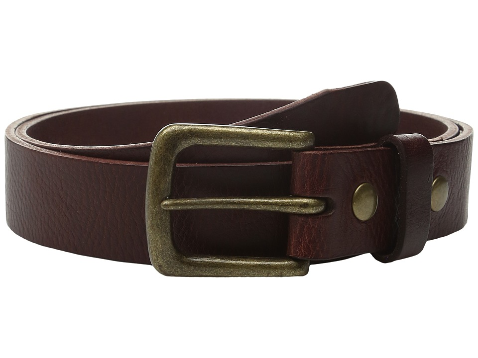 Will Leather Goods - 34mm Luxe Belt w/ Snap Closure (Cognac) Belts