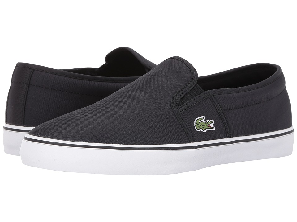 Lacoste - Gazon 316 2 (Black) Women's Shoes