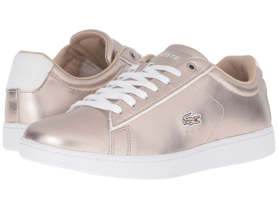 Lacoste - Carnaby EVO 316 2 (Grey) Women's Shoes