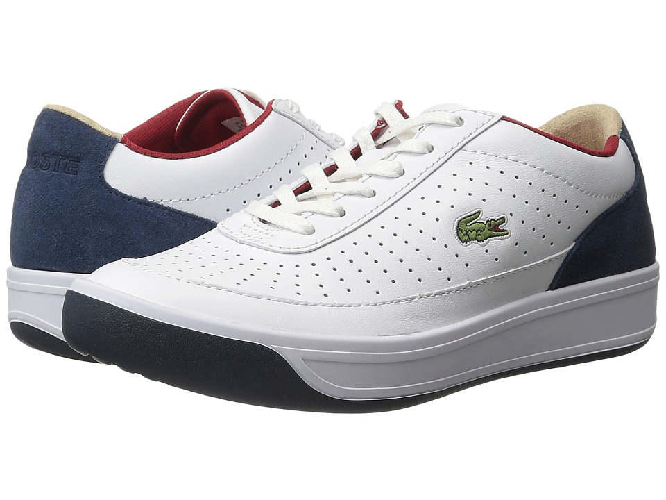 Lacoste Aceline 316 2 (White/Navy) Women