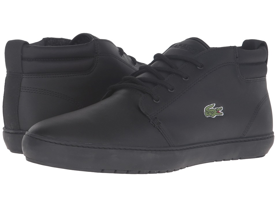 Lacoste - Ampthill Terra 316 1 (Black) Men's Shoes
