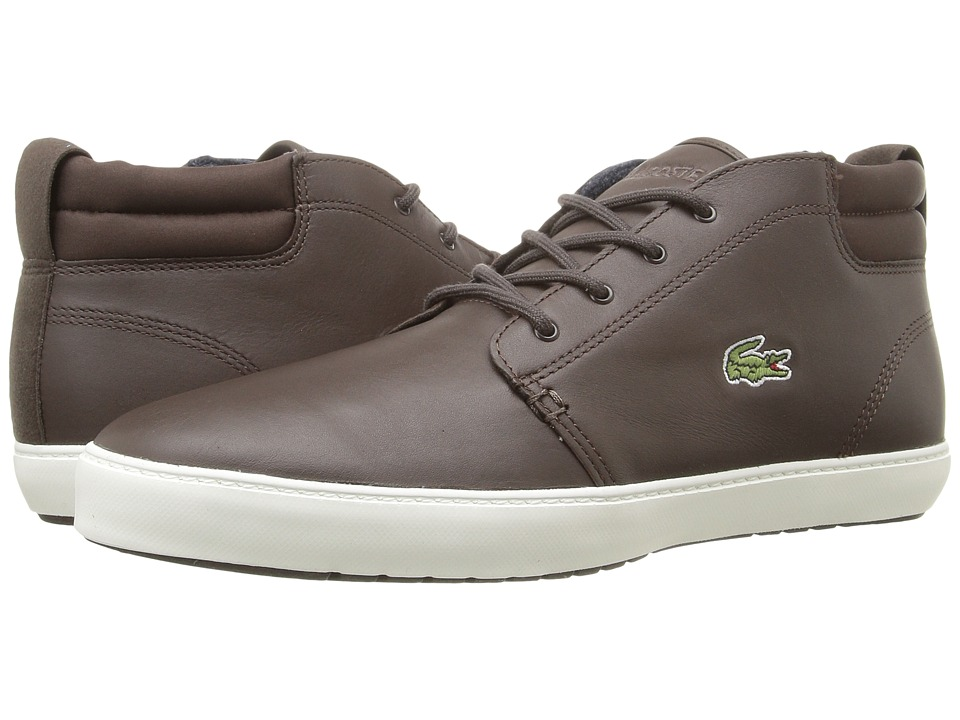 Lacoste - Ampthill Terra 316 1 (Dark Brown) Men's Shoes