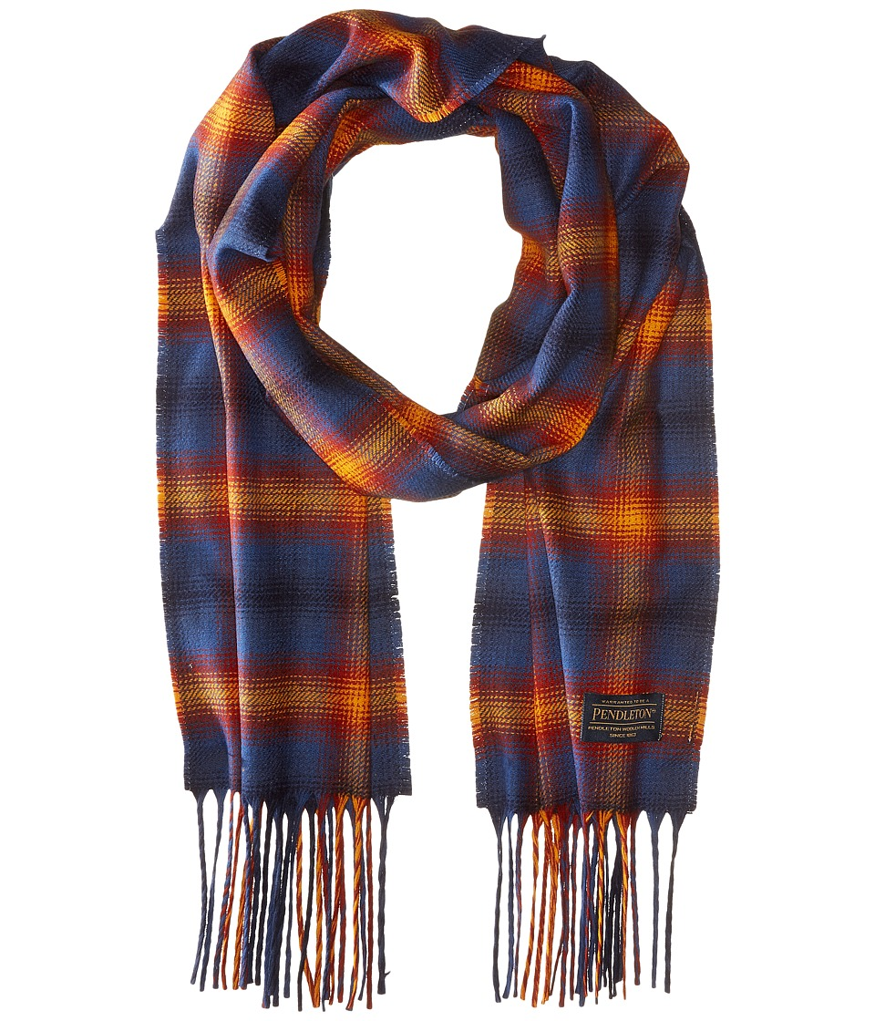 Pendleton - Park Plaid Whisperwool Muffler (Grand Canyon Park Ombre) Scarves