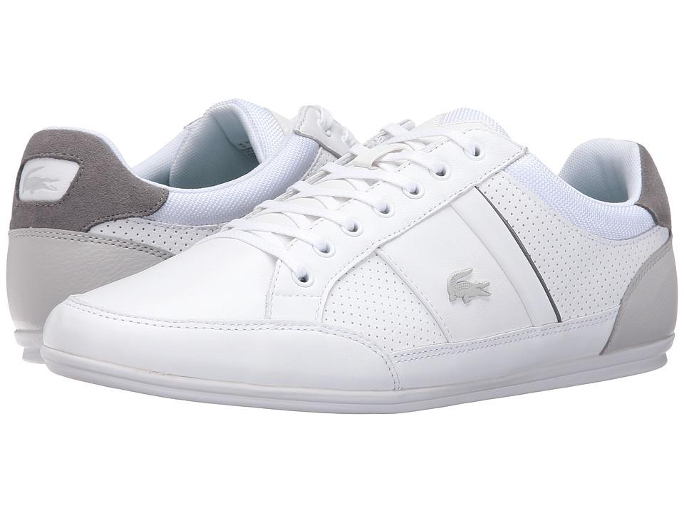 Lacoste - Chaymon 316 1 (White/Light Grey) Men's Shoes