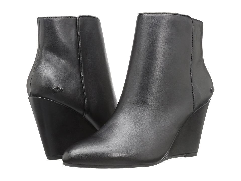 Lacoste - Alaina Boot 316 1 (Black) Women's Shoes