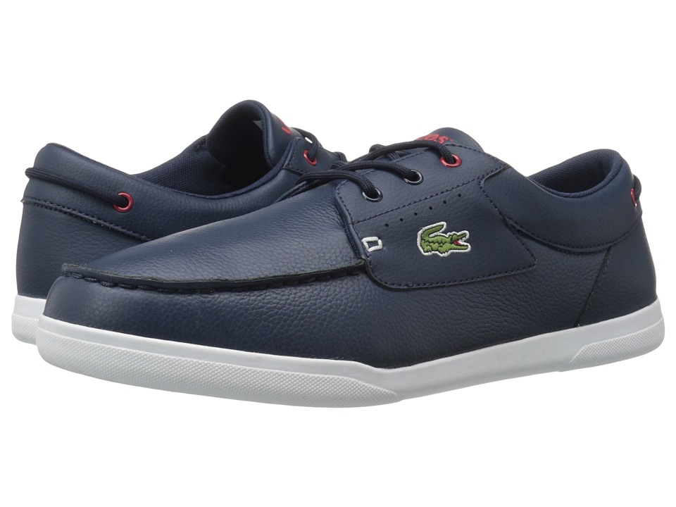 Lacoste Codecasa 316 1 Navy-Red Mens Shoes