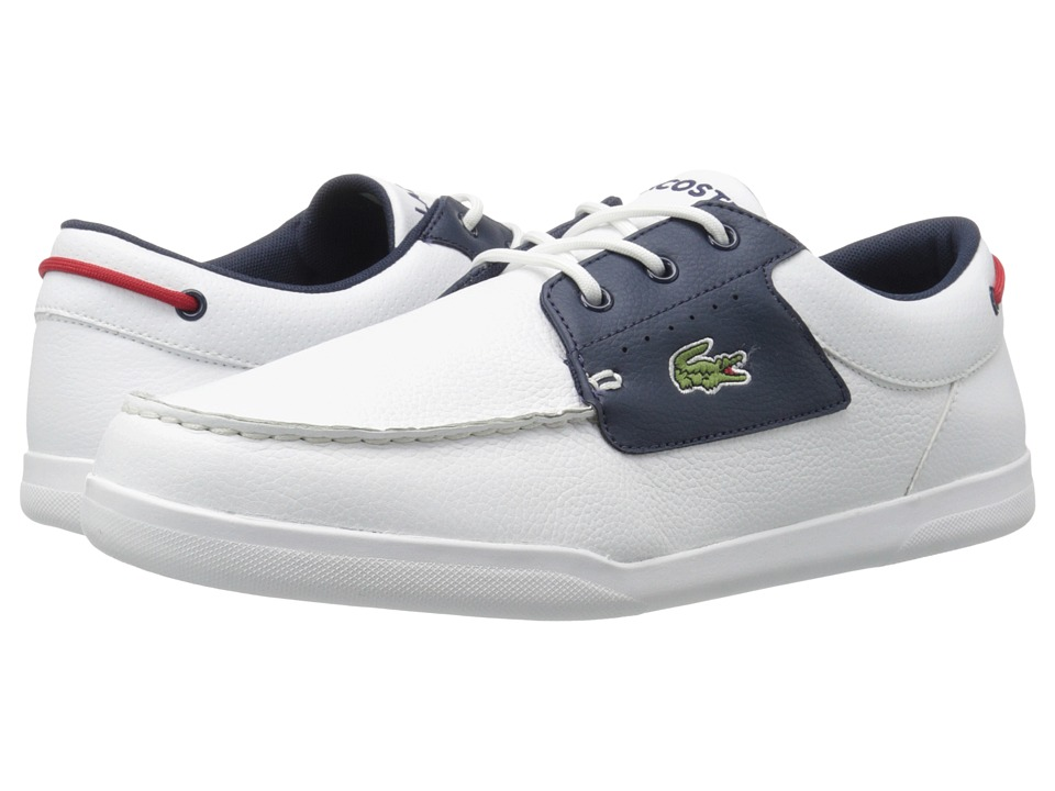 Lacoste Codecasa 316 1 (White/Navy) Men