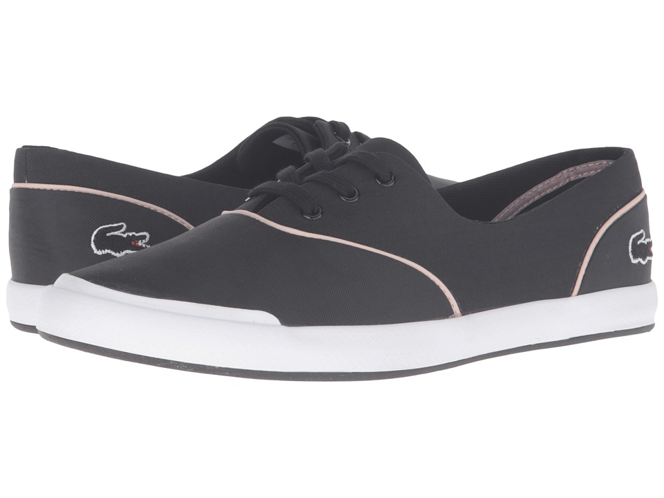 Lacoste - Lancelle 3 Eye 316 3 (Black) Women's Shoes