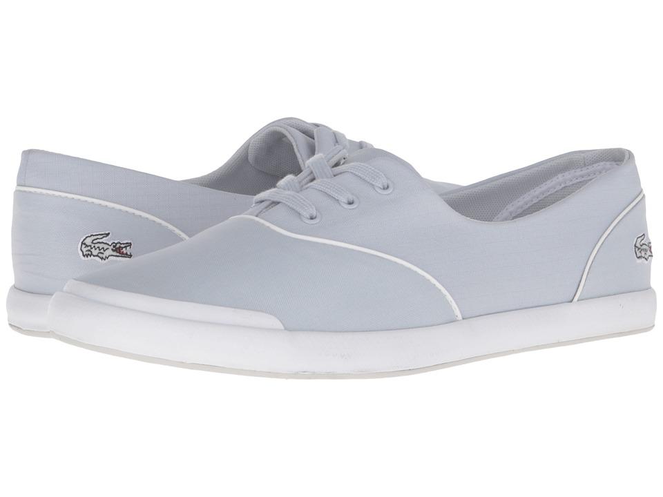 Lacoste - Lancelle 3 Eye 316 3 (Light Grey) Women's Shoes