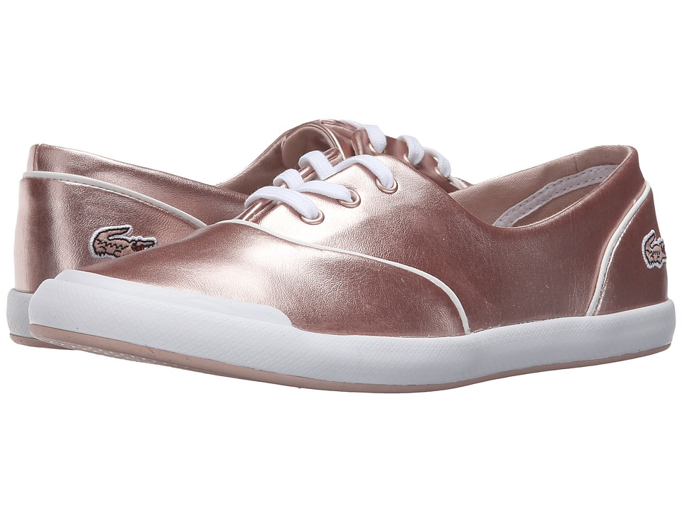Lacoste - Lancelle 3 Eye 316 2 (Light Pink) Women's Shoes