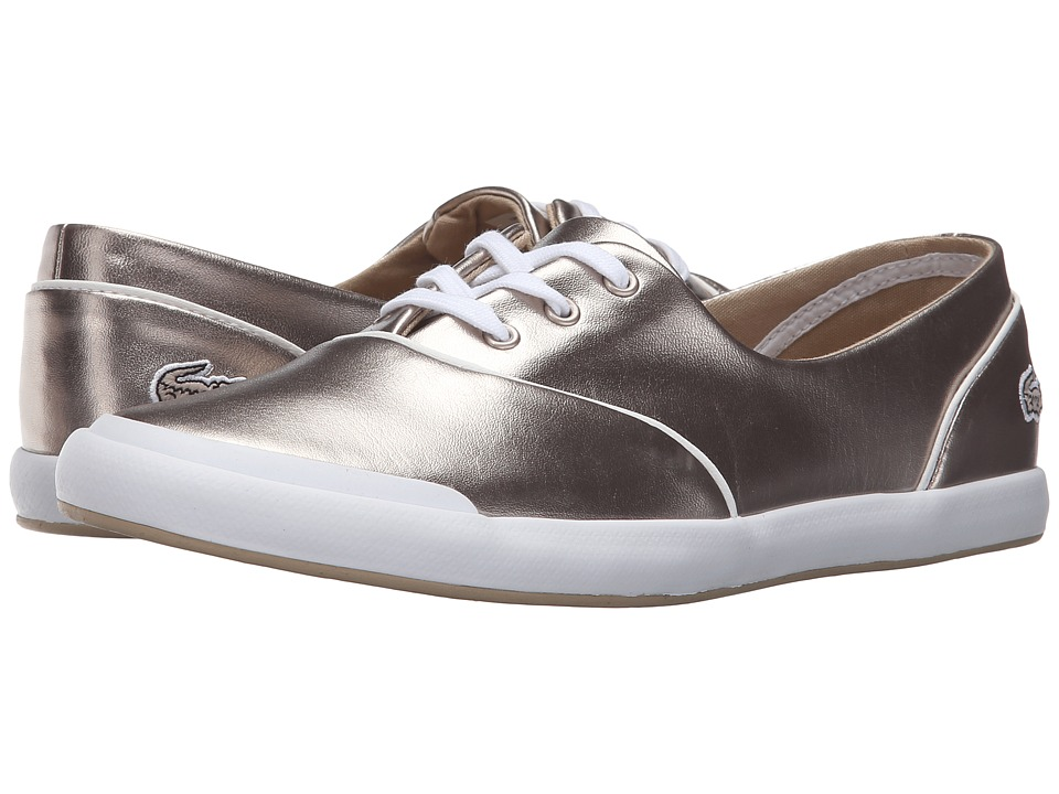 Lacoste - Lancelle 3 Eye 316 2 (Grey) Women's Shoes