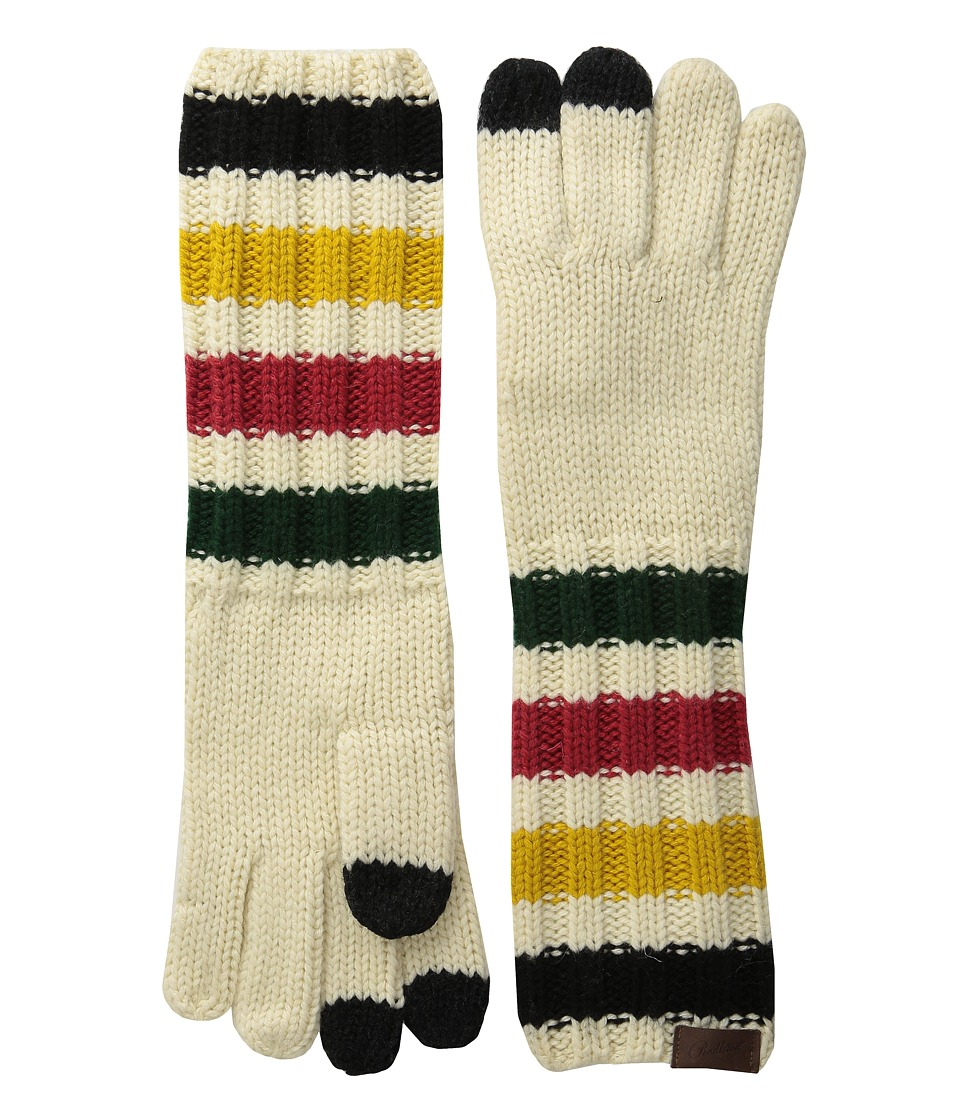 Pendleton - Chunky Knit Long Gloves (Glacier Park Stripe) Wool Gloves