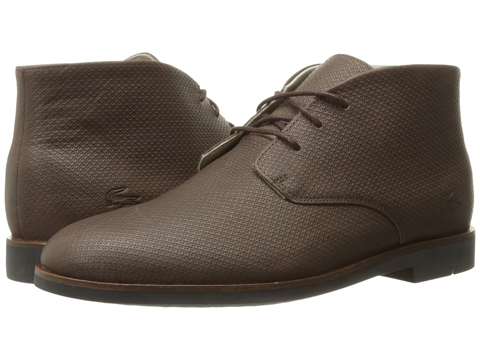 Lacoste - Crosley Chukka 316 2 (Brown) Men's Shoes