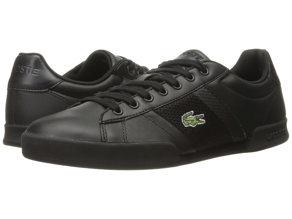 Lacoste - Deston 316 1 (Black) Men's Shoes