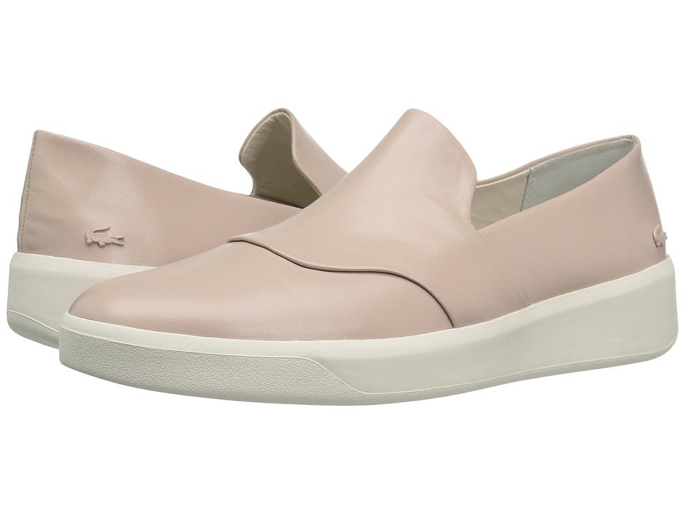 Lacoste - Rochelle Slip 316 1 (Light Pink) Women's Shoes