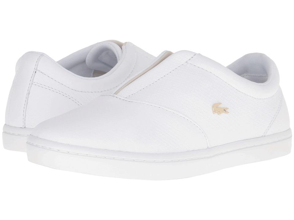 Lacoste Straightset Slip 316 2 (White) Women