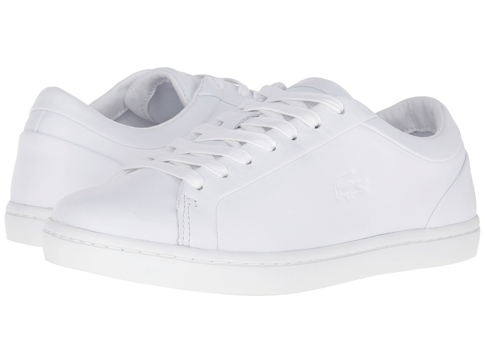 Lacoste - Straightset 316 1 (White) Women's Shoes