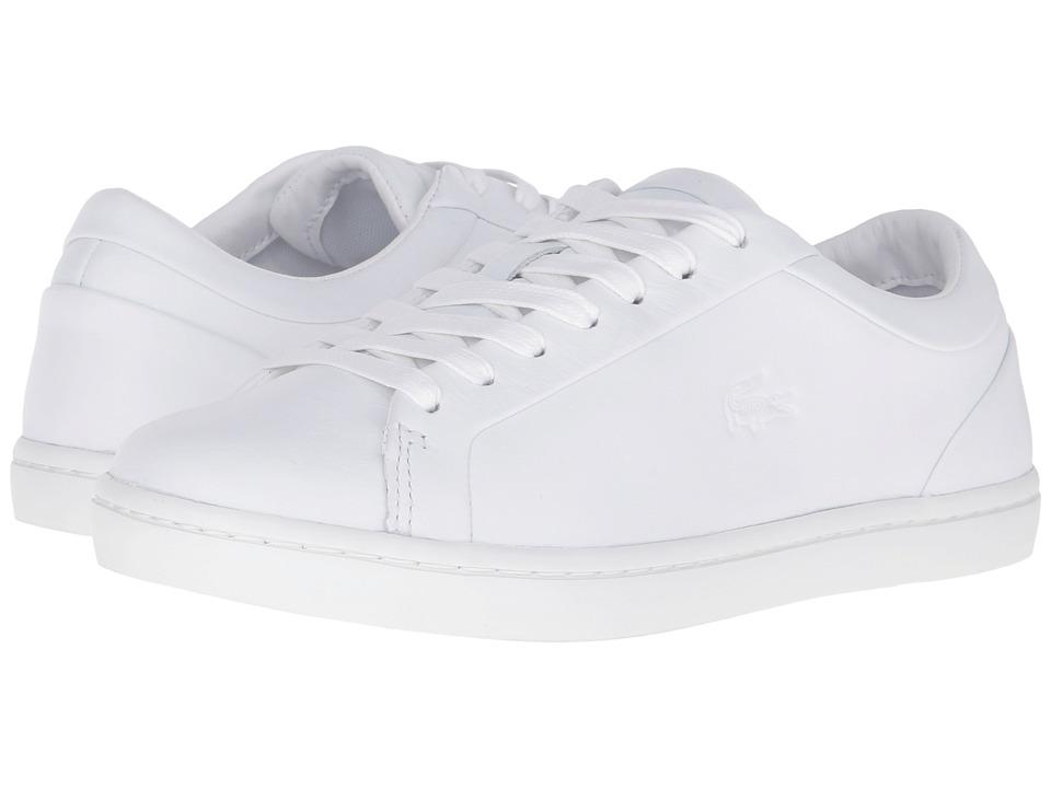 Lacoste Straightset 316 1 (White) Women