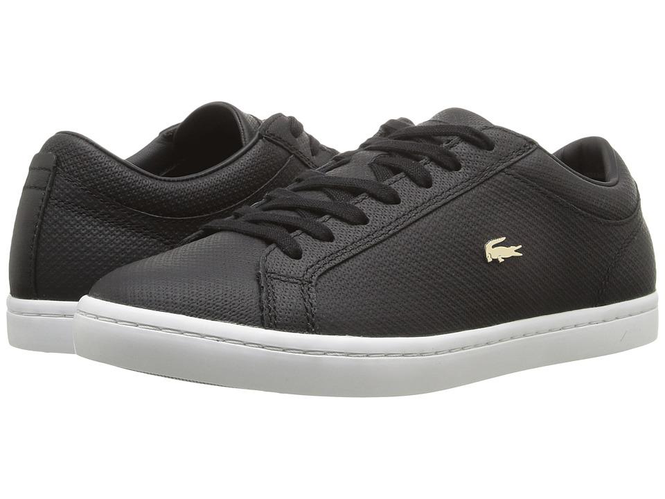 Lacoste - Straightset 316 3 (Black) Women's Shoes