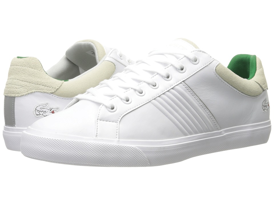 Lacoste - Fairlead 316 2 (White) Men's Shoes