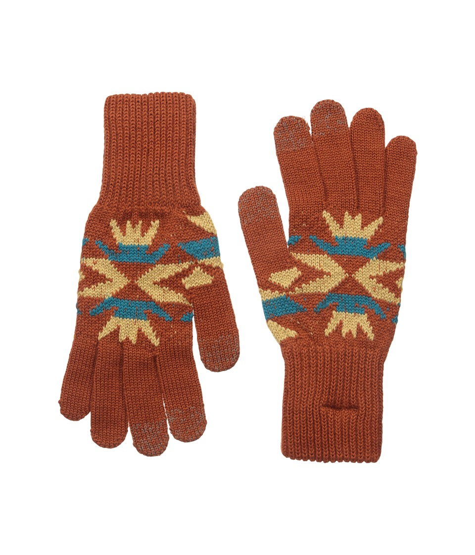 Pendleton - Texting Glove (Echo Peaks Copper) Extreme Cold Weather Gloves