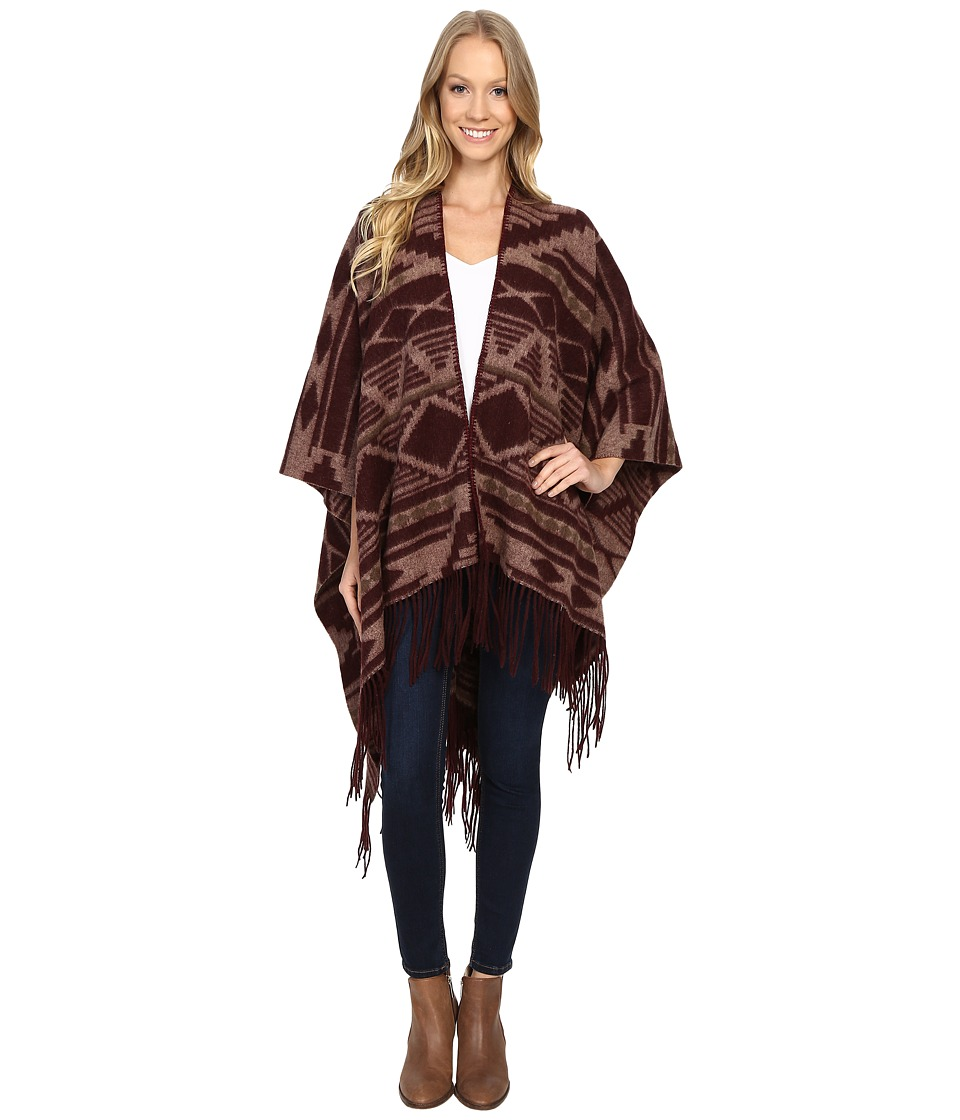 Pendleton - Woven Blanket Shawl (Cedar Mountain) Women's Sweater