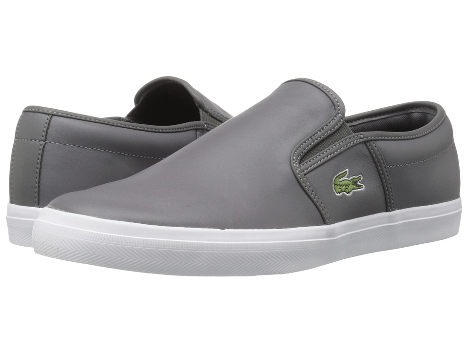 Lacoste Gazon 316 1 Dark Grey Mens Shoes